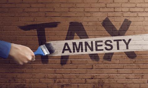 The Hand Writing Tax Amnesty